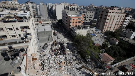 Israel Palästina | Gaza Mädchen überlebt israelischen Luftangriff
