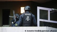 Deutschland Razzia wegen Kunstraub im Grünen Gewölbe