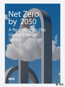 Титульный лист доклада МЭА Net Zero by 2050