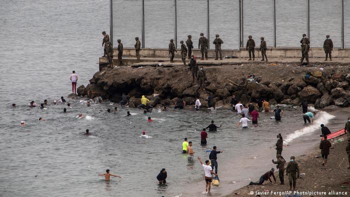 Spanien Ceuta Flüchtlinge