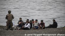 Marokko Spanien | Tausende Migranten schwimmen nach Ceuta