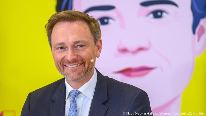 Christian Lindner, head of the German FDP political party