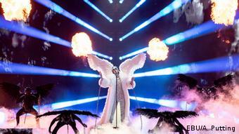 Тикс из Норвегии на сцене Евровидения