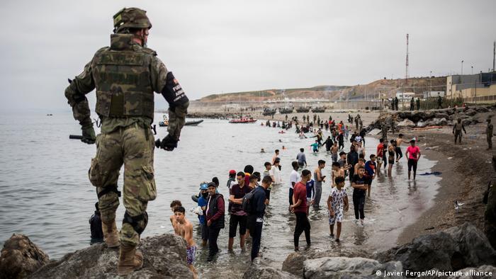 Spanien Exklave Ceuta | Migranten