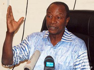 Guineas neuer Präsident Alpha Condé (Foto: AP)