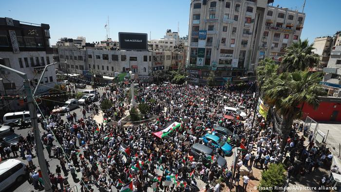 Ausschreitungen und Proteste in Ramallah I West Bank