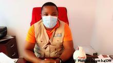 Direktor der Zeitung Hora H Fotograf: Manuel Luamba/DW Datum: 18.05.2021 Ort: Luanda, Angola