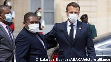 Frankreich | Filipe Nyusi | Treffen mit Emmanuel Macron