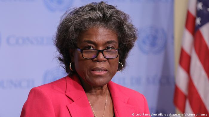 USA I US Botschafterin Linda Thomas-Greenfield I UN