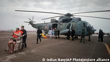 Indien Zyklon Tauktae Schiffsunglück Seenotrettung