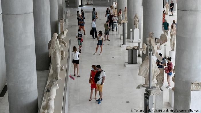 Museum Akropolis di Athena juga sudah dibuka untuk pengunjung