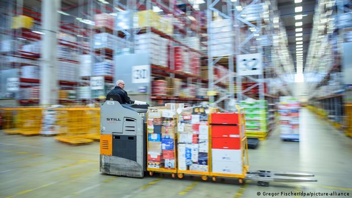 Deutschland Rewe-Logistikzentrum