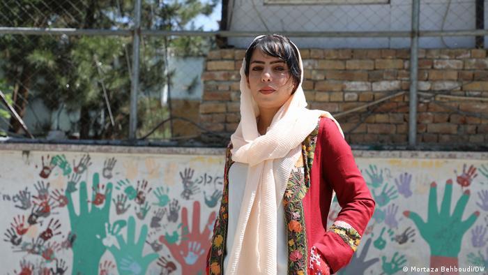 La periodista Anisa Shaheed.