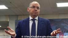 Ukraine I Gesundheitsminister Maksym Stepanov