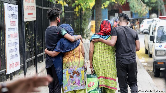 Indien Neu Delhi | Coronakrise: Trauer um verstorbenes Familienmitglied