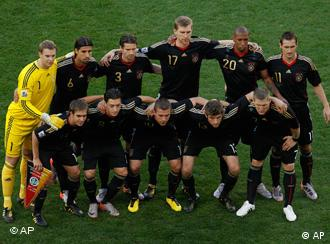The Germany team