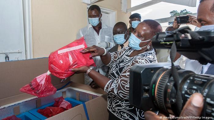 Malawi vernichtet Covid-19 Impfstoff AstraZeneca