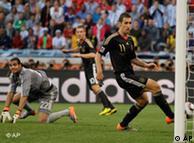 Alemania golea 4-0 a Argentina y es semifinalista