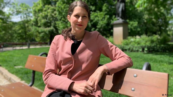 Julie Kochová, de la organizaţia Dobrý start