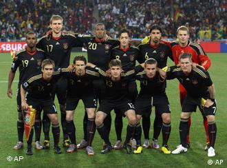 Игроки немецкого футбола