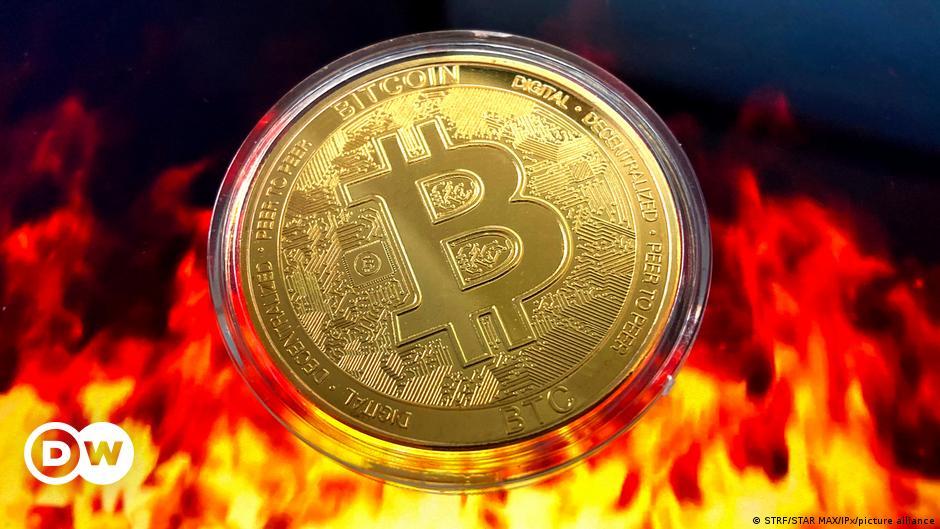 Bitcoin dips sharply as China broadens ban