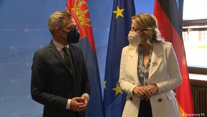 Jadranka Joksimović i Michael Roth