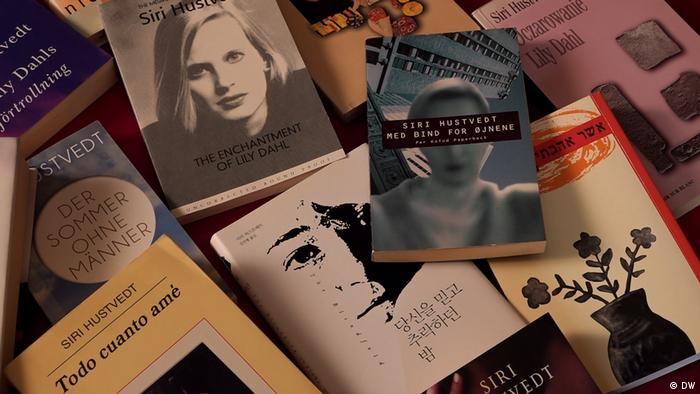 Books by Siri Hustvedt in multiple languages