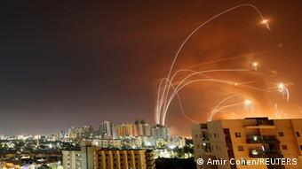 Обстрел Израиля из сектора Газа