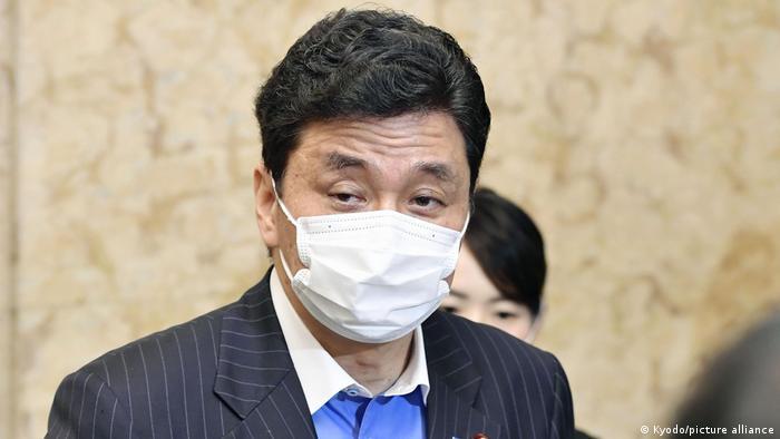 Japan Verteidigungsminister Nobuo Kishi