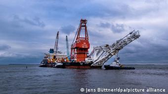 Трубоукладач Фортуна має у серпні добудувати газопровід Північний потік-2