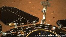 China Tianwen-1 Mission, Rover Zhurong   Bild des Mars