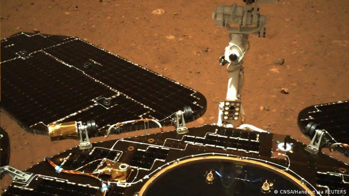 China Tianwen-1 Mission, Rover Zhurong | Bild des Mars