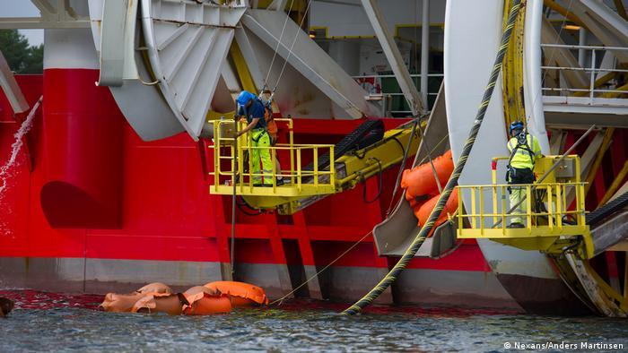Pressebild TenneT TSO GmbH |Seekabelverlegung NordLink