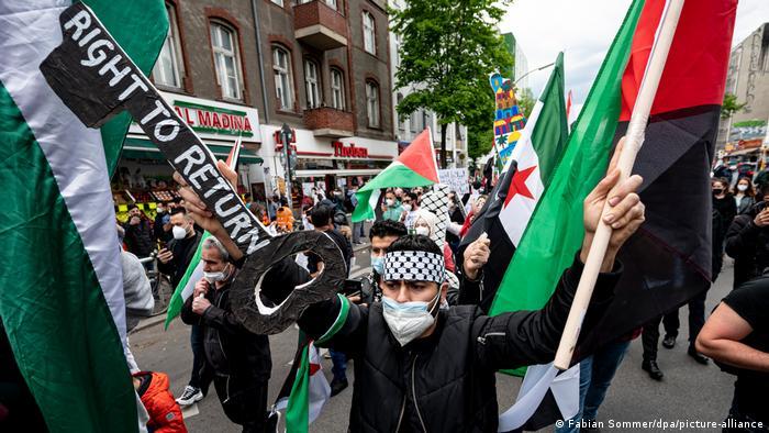 Propalestinske demonstracije u Berlinu 15.5.2021.