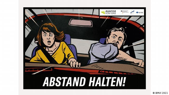 Шок-плакати на німецьких автобанах