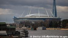 Fußball EM 2021 | Stadion in Russland Sankt Petersburg | Krestovsky, Gazprom Arena