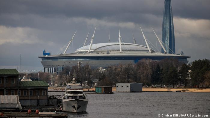 Stadion Krijestowskij, Gazprom Arena w Sankt Petersburgu
