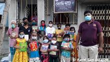 A Village Library in South 24 Parganas, West Bengal Bücherei South 24 Parganas DW, Payel Samanta