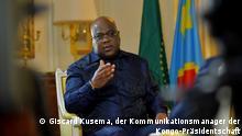 18.5.2021, Paris, Frankreich, Félix Antoine Tshisekedi Tshilombo ist ein Politiker in der Demokratischen Republik Kongo und seit 2019 Präsident seines Landes. Er folgt in diesem Amt auf Joseph Kabila, der fast 18 Jahre lang an der Spitze des Landes gestanden hatte // Redakteur: Eric Topona
