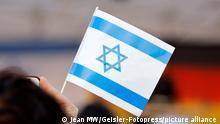 Kundgebung zur Solidarität mit Israel in Berlin