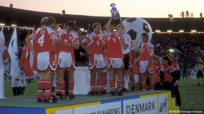 Fußball EM 1992 Sieger Dänemark