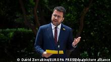 Spanien Kataloniens Separatisten einigen sich auf Regierungskoalition