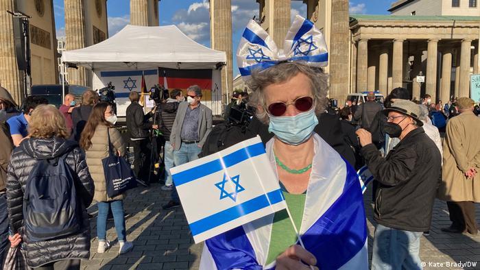 Margreet Krikowski, a member of the German-Israeli Society