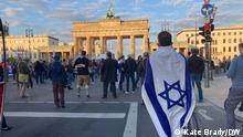 Deutschland Demo in Berlin zum Nahost-Konflikt