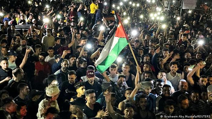 Palästina Feuerpause in Gaza
