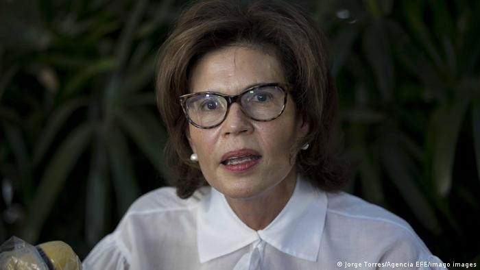 Cristiana Chamorro will im November gegen Ortega antreten