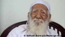 July 30, 2016 - Dehradun, Uttarakhand, india - 30 July 2016 - Dehradun , INDIA..Portrait of Sunderlal Bahuguna, the World famous Indian environmentalist & founder of the Chipko Movement. Dehradun india - ZUMAsu5_ 20160730_zap_su5_022 Copyright: xSubhashxSharmax
