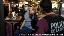 Argentinien Corona-Pandemie | Lockdown Buenos Aires