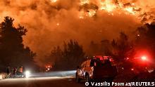 Weltspiegel 21.5.21   Griechenland Feuer in Schinos