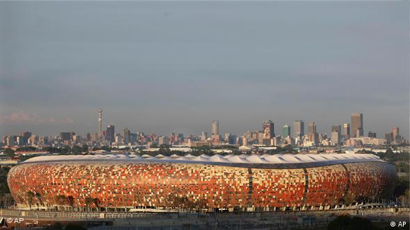 Soccer City Stadion Flash-Galerie